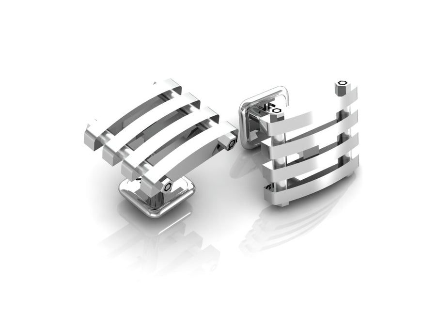 D-fence Cuff Links