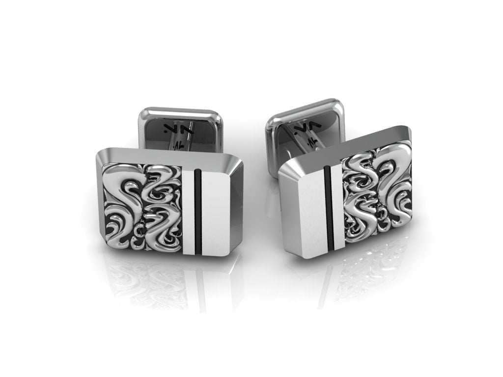 Classic Scroll Cuff Links