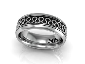 Serpentine Wire Ring, Size 10
