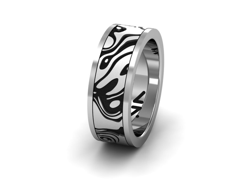 Topography Ring, Size 10