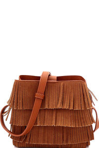 Karen Rosewood Fridge Crossbody