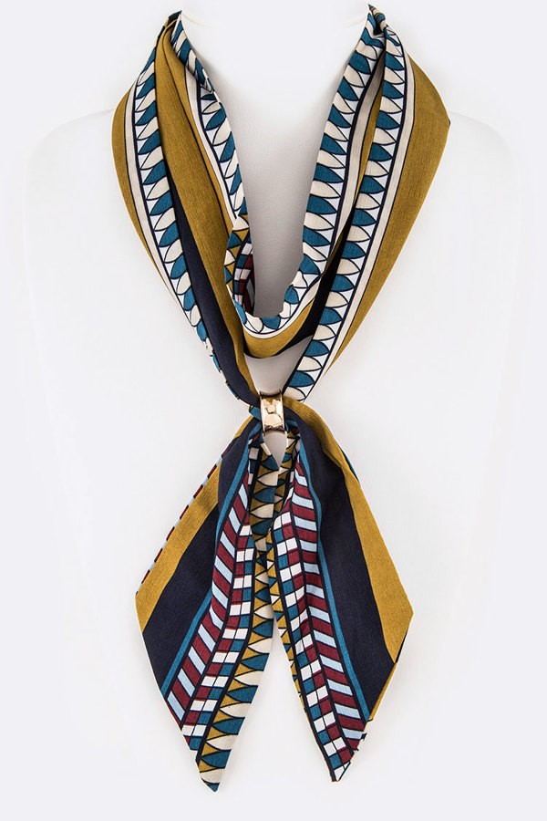 Katrina Adjustable Skinny Skinny Scarf