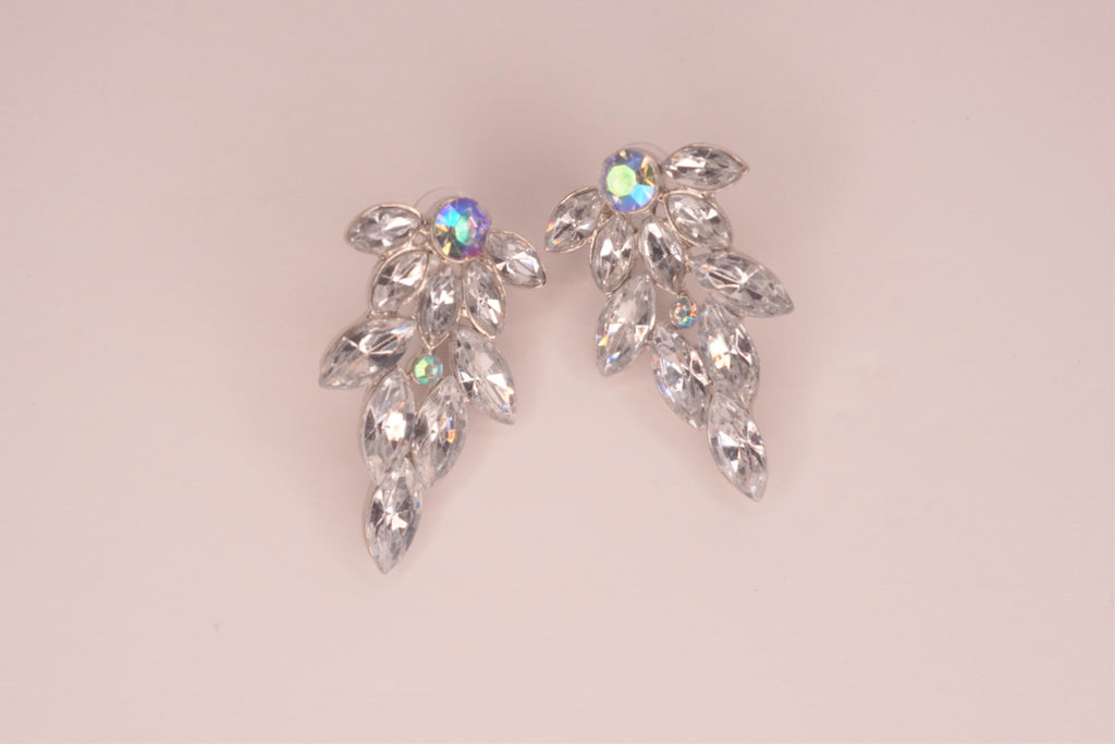 Kara CZ Tree Post Earrings