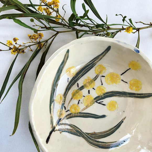 Golden Wattle Bowl (small)