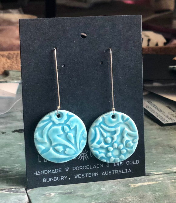 Turquoise Shirley earrings