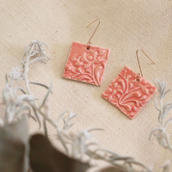 Melon Folk Earrings