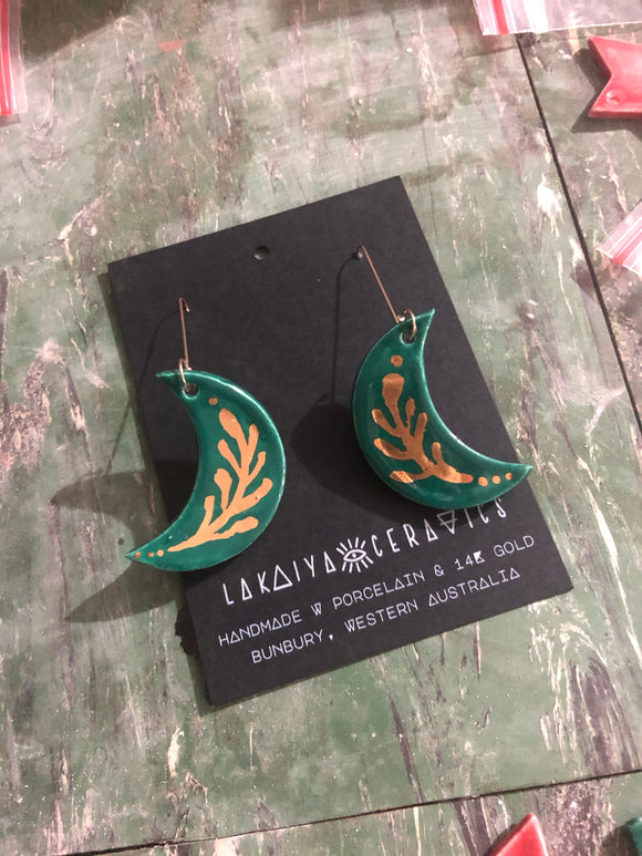 Forest Moon Magic Earrings