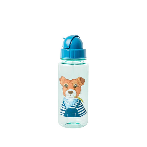 Trinkflasche Animals Farms, blau