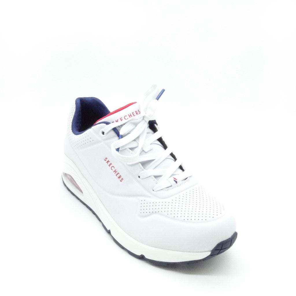 73690 - WHITE NAVY RED