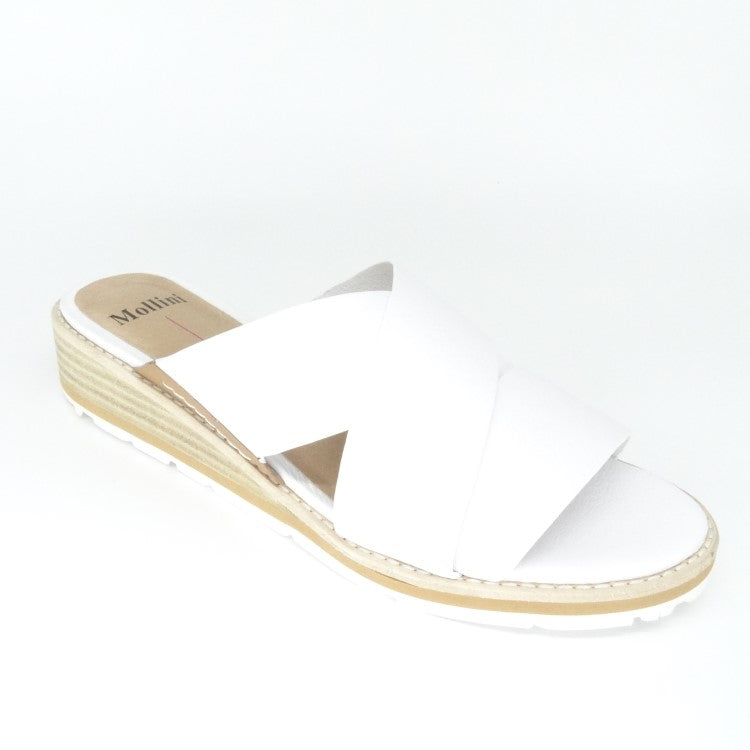 BERITY - WHITE/TAN