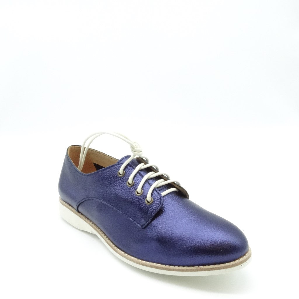 DERBY UNLINED - NAVY METALLIC