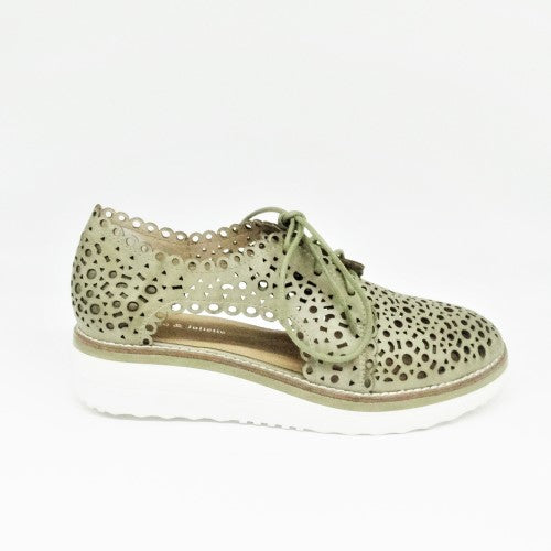 PONWISH - KHAKI/WHITE