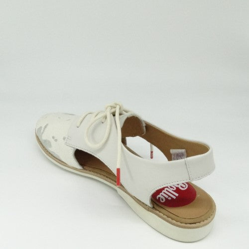 DERBY SLINGBACK - OFF WHITE
