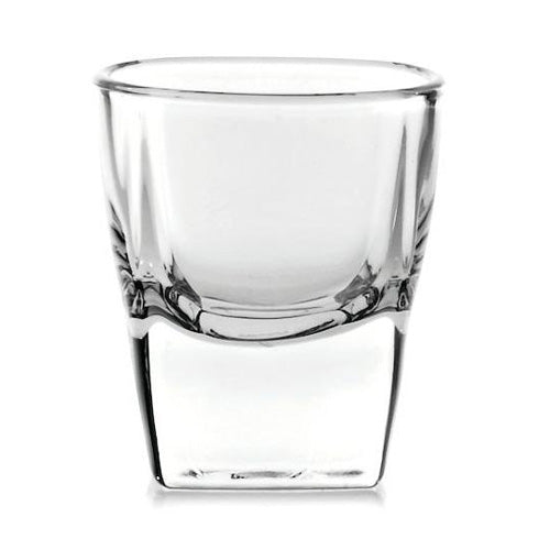 55 ml Plaza Shot Glass Ocean Glass P00210
