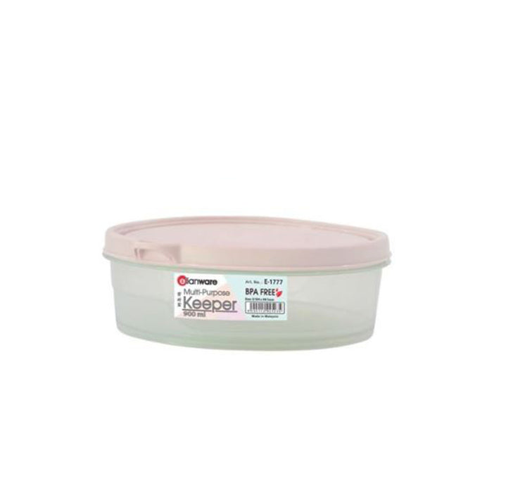 900 ml BPA Free Round Container Elianware  1777 (All Colour)