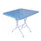 3' x 3' Rectangular Plastic Foldable Table 2B