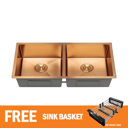 65 cm Rose Gold Kitchen Sink CABANA  KS8845-RG-NL