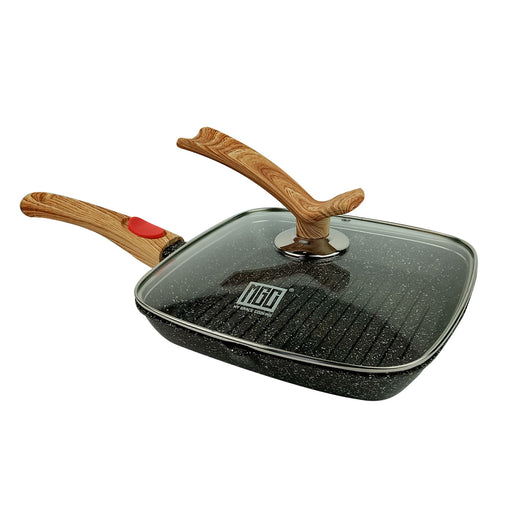 24 cm Romantic Square Granite Non-Stick Fry Pan MGC (All Colour)