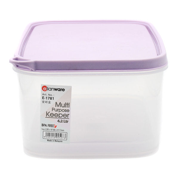 4200 ml BPA Free Round Container Elianware  1781