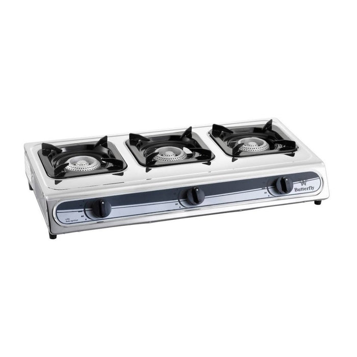 3 Burner Gas Cooker Butterfly BGC-3011L (STV-2205)