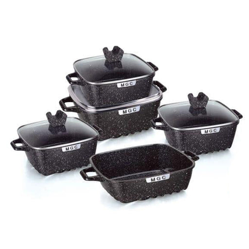 15 Pieces Dubai Granite Pot Sets MGC (All Colour)