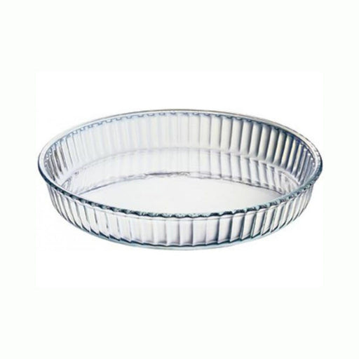 2.95 Litre Fluted Round Flan Dish BORCAM B59014 (All Colour)
