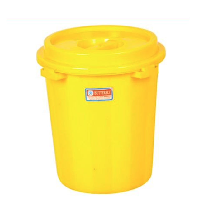 Pail With Cover Butterfly 2202
