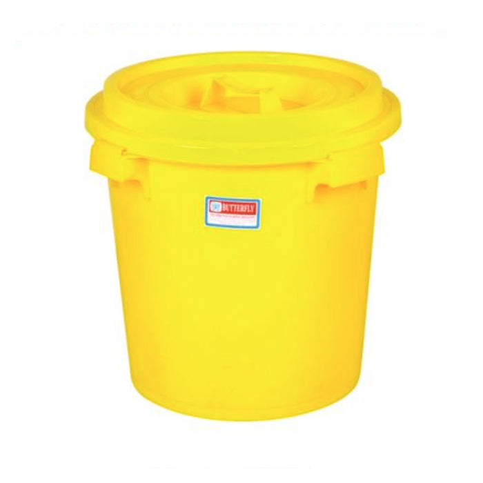 Pail With Cover Butterfly 2206