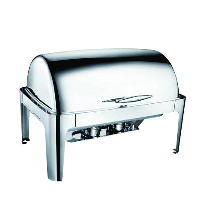 Rectangular Roll Top Chafing Dish 723C