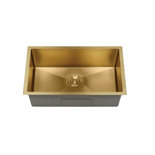 65 cm Gold Kitchen Sink CABANA KS6845-GY-NL
