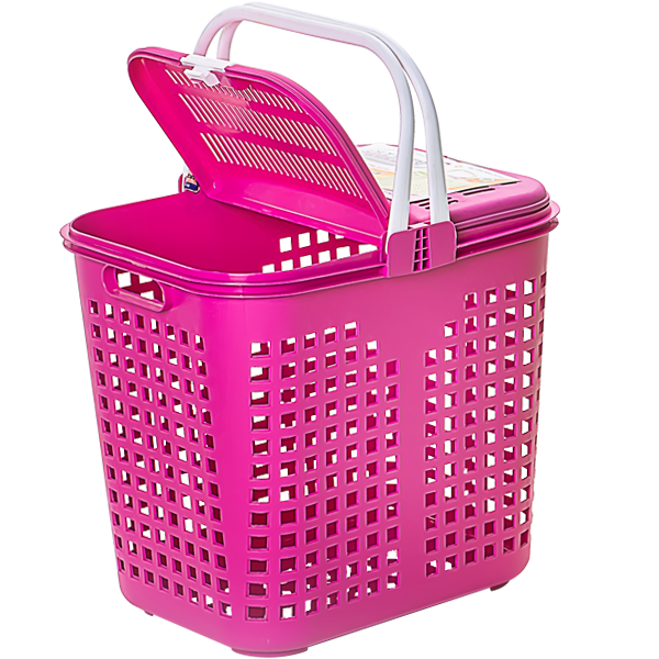 Laundry Basket With Cover Elianware EE156C