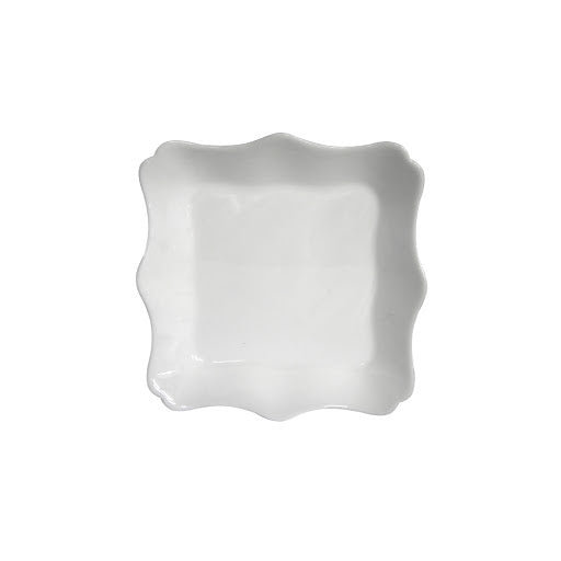 22 cm Tempered Glass White Soap Plate Luminarc Authentic J1342