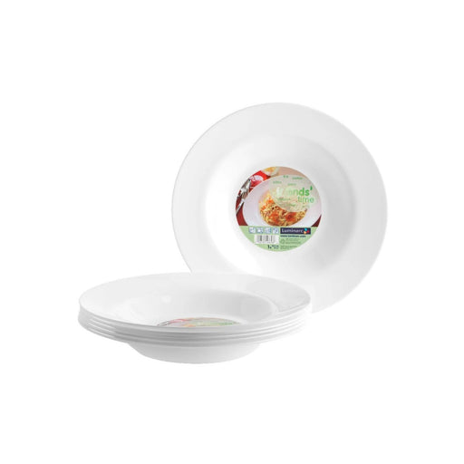28 cm Tempered Glass Pasta Plate Luminarc Friends Time C8018