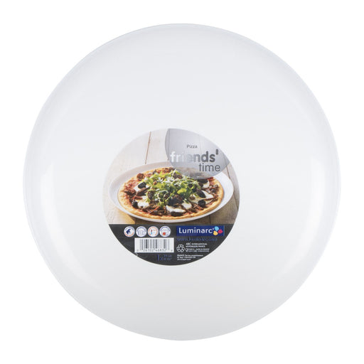 32 cm Tempered Glass Pizza Plate Luminarc Friends Time C8016