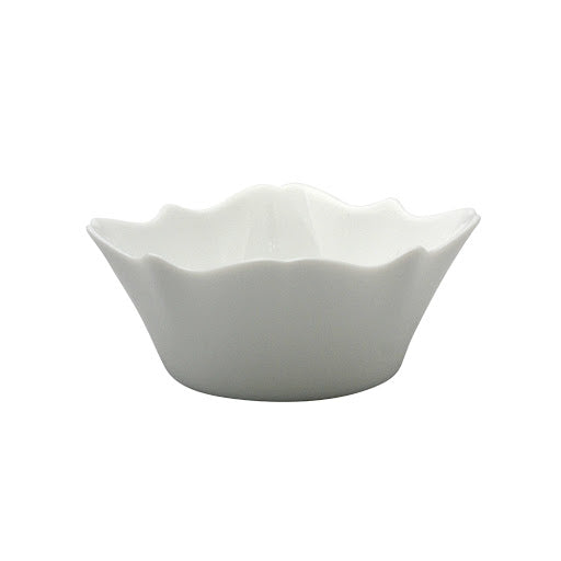 24 cm Tempered Glass White Bowl Luminarc Authentic D8746