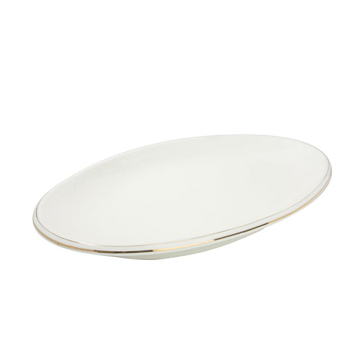 "14"" - 18"" Oval Plate Gold Line AD (All Size)"