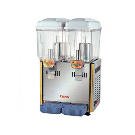 12 Litre x 2 Compartment Cold Beverage Dispenser ORIMAS SL003-2S