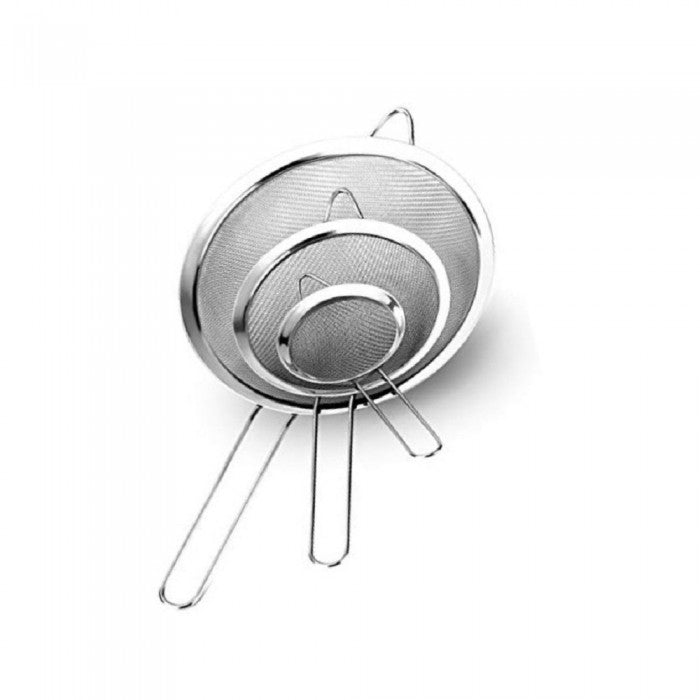8 - 25 cm Stainless Steel Deep Strainer Toffi (All Sizes)