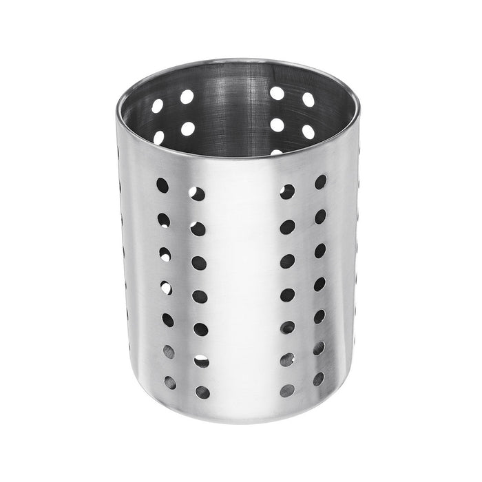 10 - 12 cm Round Stainless Steel Cutlery Holder (All Sizes)