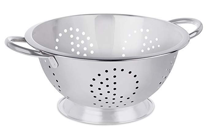 24 - 40 cm Perforated Colander With Two Handle (All Sizes)