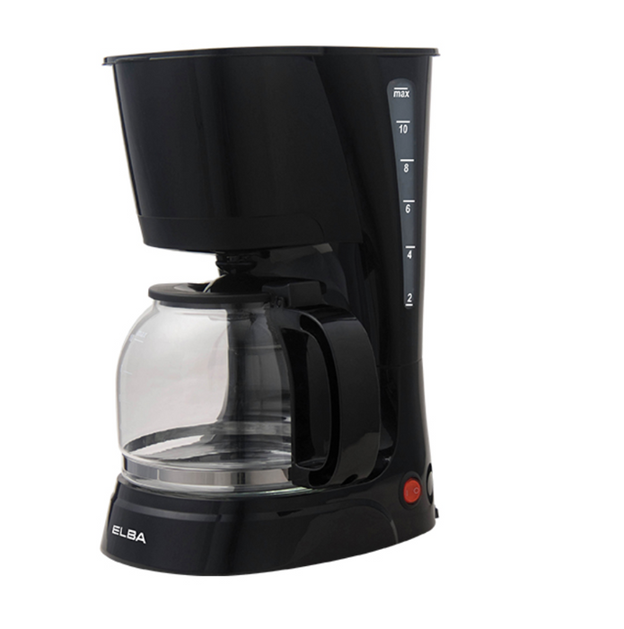 Coffee Maker ELBA ECM-D1280(BK) (ABM-1208A)