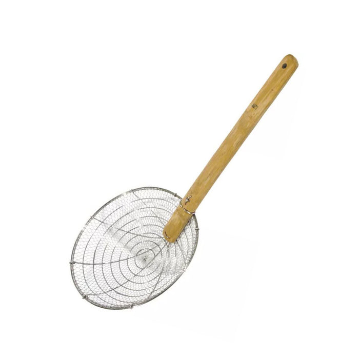 "7"" - 15"" Iron Strainer with Bamboo Handle (All Sizes)"