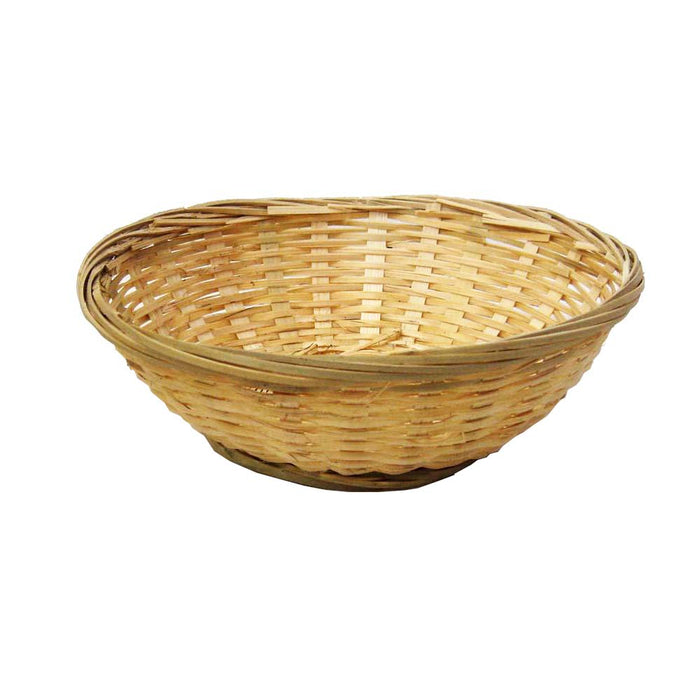 6 - 10 Inches Bamboo Round Basket (All Size)