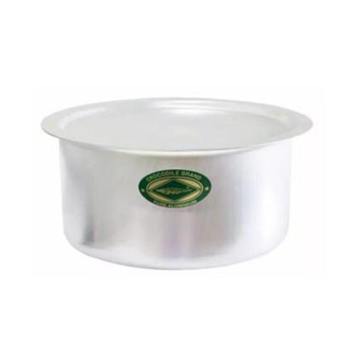 16 - 65 cm Aluminium Degchi Pot Cap Buaya (All Sizes)