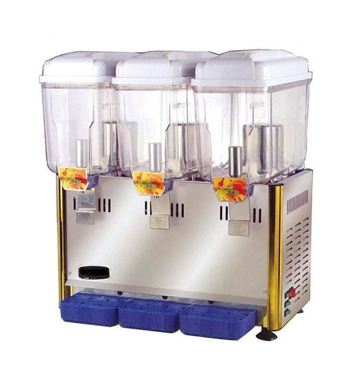 12 Litre 3 Compartment Cold Beverage Dispenser ORIMAS SL003-3S
