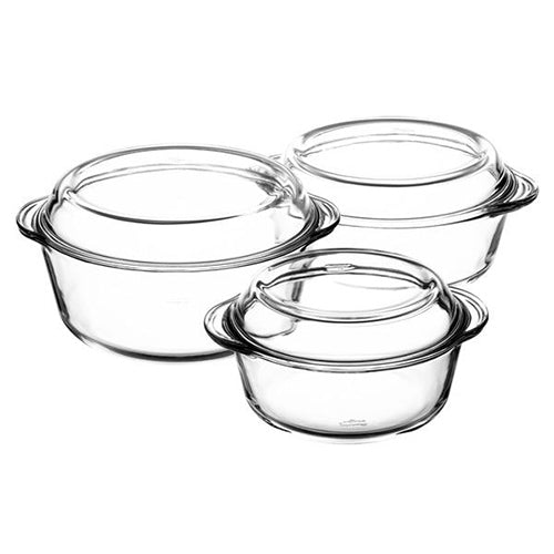 3 pieces Casserole SET BORCAM B159005