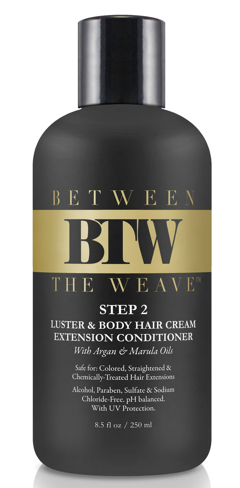 STEP 2- LUSTR & BODY HAIR EXTENSION CONDITIONER