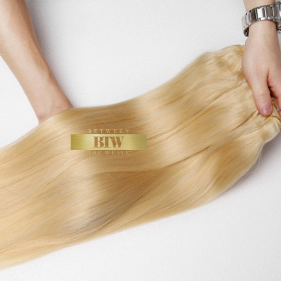613 BLONDE STRAIGHT-RAW HAIR