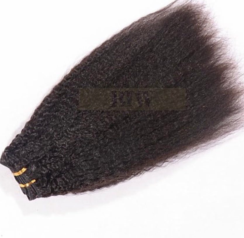 KINKY STRAIGHT-RAW HAIR