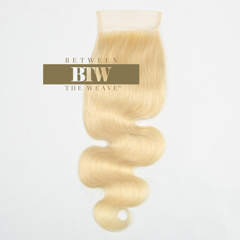 613- BODY WAVE LACE CLOSURE 4x4
